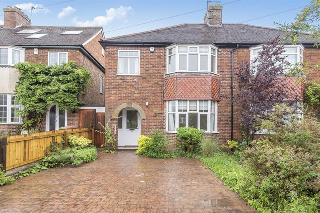 Thumbnail Semi-detached house to rent in Carlton Road, Oxford