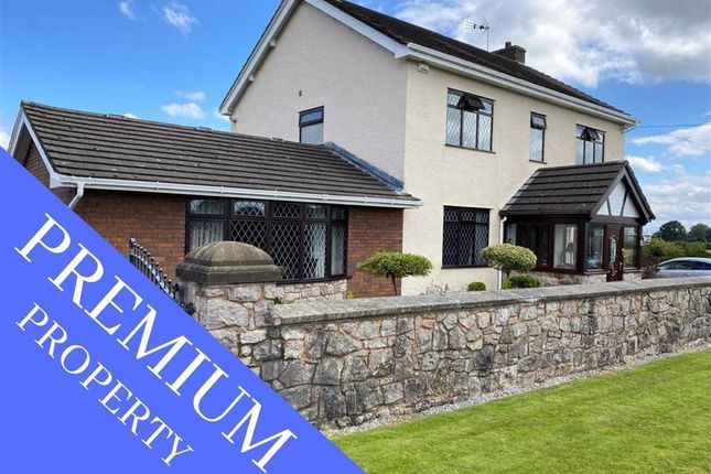 Thumbnail Detached house for sale in Lower Mountain Road, Hope, Wrexham