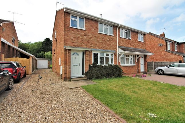 Thumbnail Semi-detached house for sale in Rowley Road, Whitnash, Leamington Spa