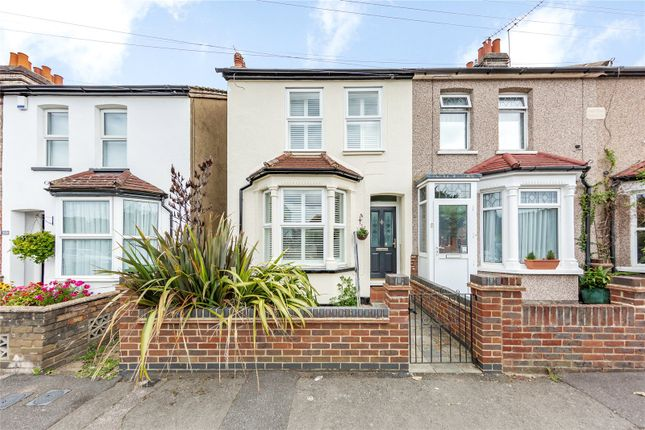 Thumbnail End terrace house for sale in Douglas Road, Hornchurch