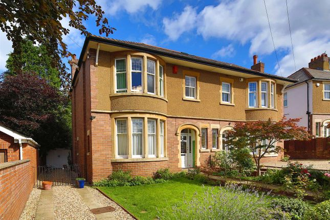 Semi-detached house for sale in Woodland Crescent, Cyncoed, Cardiff