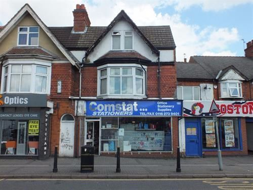 Thumbnail Flat to rent in Evington Road, Leicester