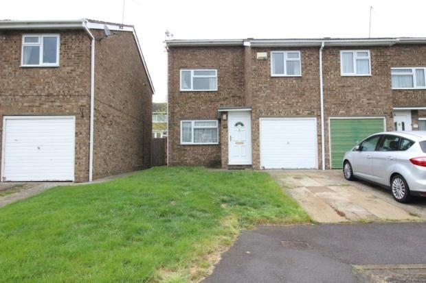 Thumbnail Semi-detached house to rent in Kentmere Close, Kempston