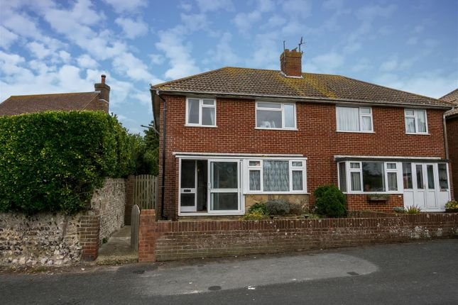 Thumbnail Semi-detached house for sale in Heighton Road, South Heighton, Newhaven