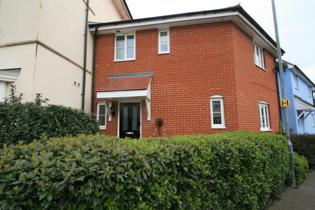 Thumbnail Semi-detached house to rent in Gratian Close, Colchester, Essex