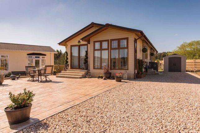 Thumbnail Lodge for sale in Hillhead Caravan Park, Kintore, Inverurie