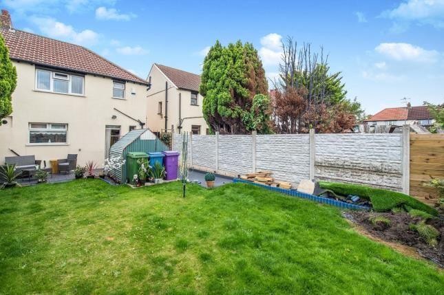 Rear Garden of Finborough Road, Walton, Liverpool, Merseyside L4