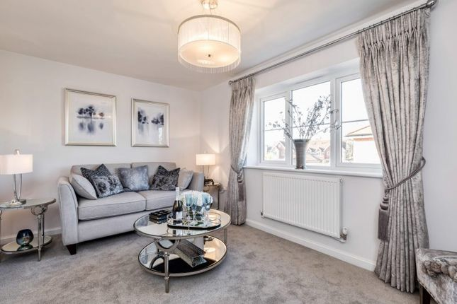 "Thumbnail Terraced house for sale in ""The Kensington"" at Hersham Road, Hersham"