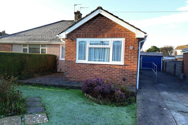 Thumbnail Semi-detached bungalow for sale in Maes-Yr-Haf, North Cornelly