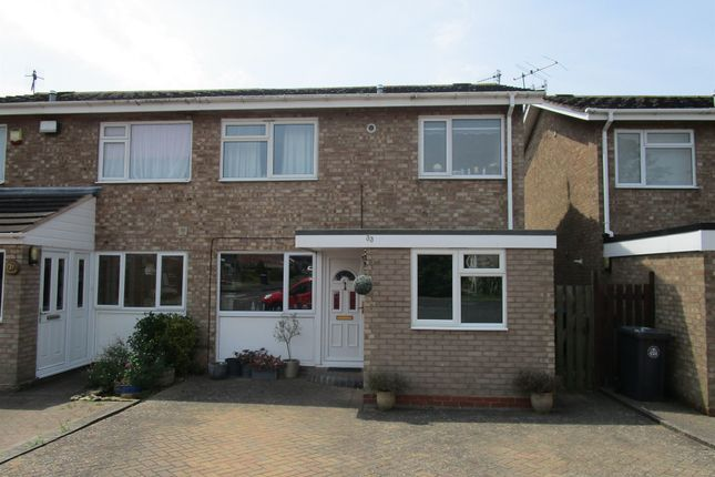 Thumbnail Semi-detached house for sale in Burbage Avenue, Stratford-Upon-Avon