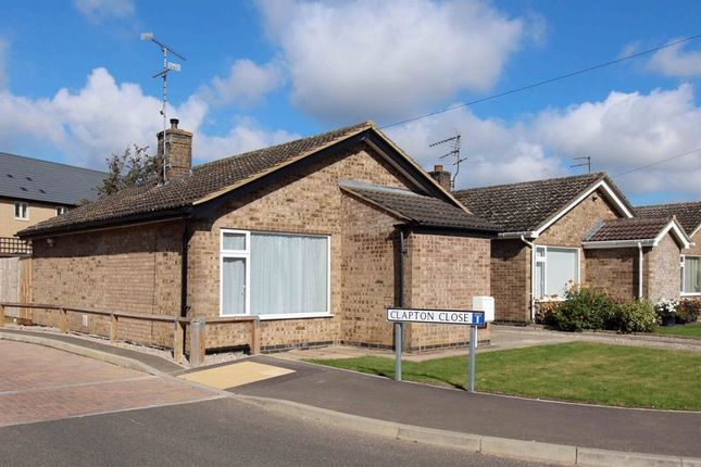 Thumbnail Detached bungalow to rent in Belvoir Close, Stamford
