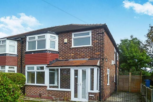 Thumbnail Semi-detached house to rent in Morningside Drive, East Didsbury, Manchester
