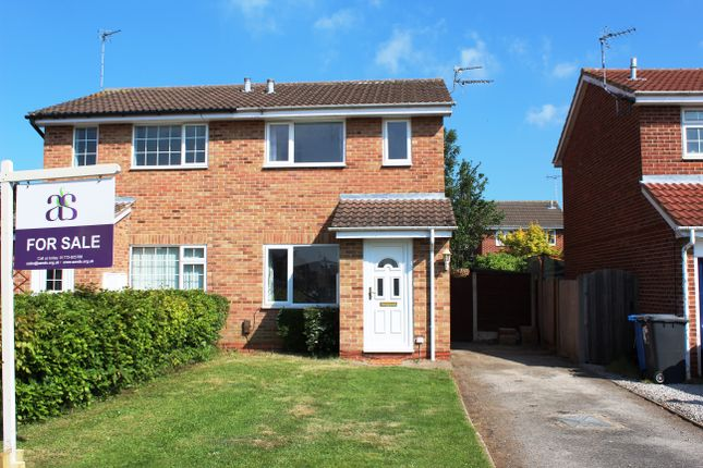 Thumbnail Semi-detached house for sale in Simcoe Leys, Chellaston, Derby