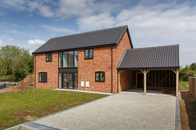 Thumbnail Detached house for sale in Plot 9 The Oak, Oakland Mews, Strumpshaw