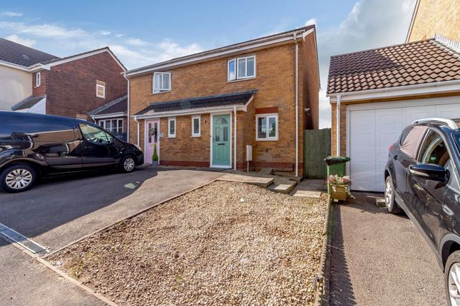 Thumbnail Semi-detached house for sale in Blackthorn Court, Llanharry, Pontyclun