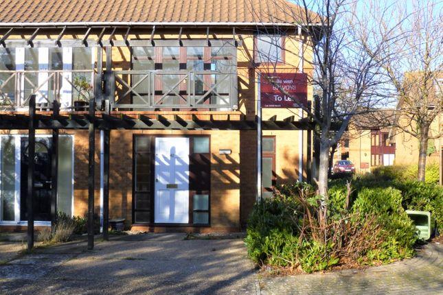 Thumbnail Semi-detached house to rent in Cockerell Grove, Shenley Lodge, Milton Keynes