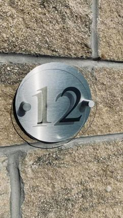 Door Number of Old School Yard, Main Street, Auchinleck KA18