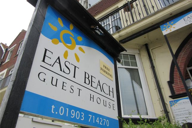 Thumbnail Hotel/guest house for sale in South Terrace, Littlehampton, West Sussex