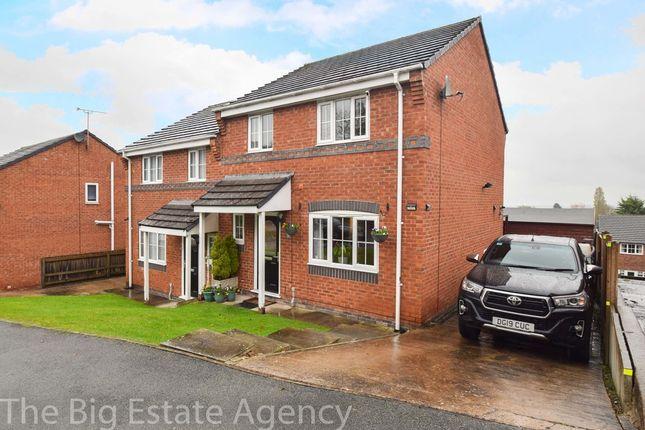 3 bed semi-detached house for sale in Minffordd Fields, Gwernymynydd, Mold CH7