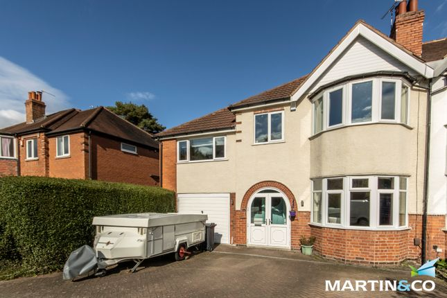 Thumbnail Semi-detached house for sale in Pereira Road, Harborne