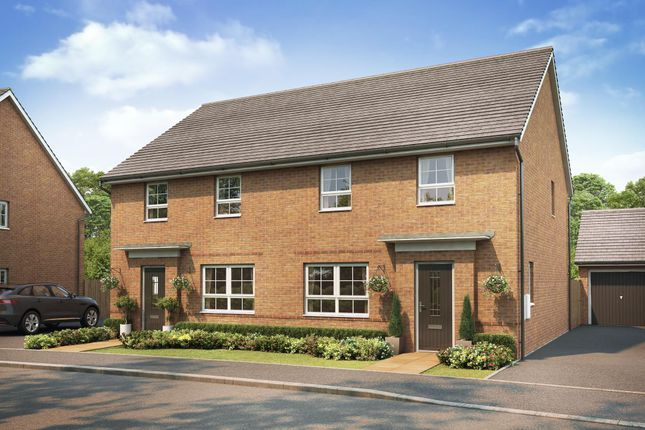 "Thumbnail Detached house for sale in ""Chester"" at The Ridge, London Road, Hampton Vale, Peterborough"