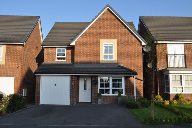 Thumbnail Detached house for sale in Laverick Grove, Wigan
