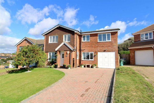Thumbnail Detached house for sale in Beacon Drive, Seaford, East Sussex