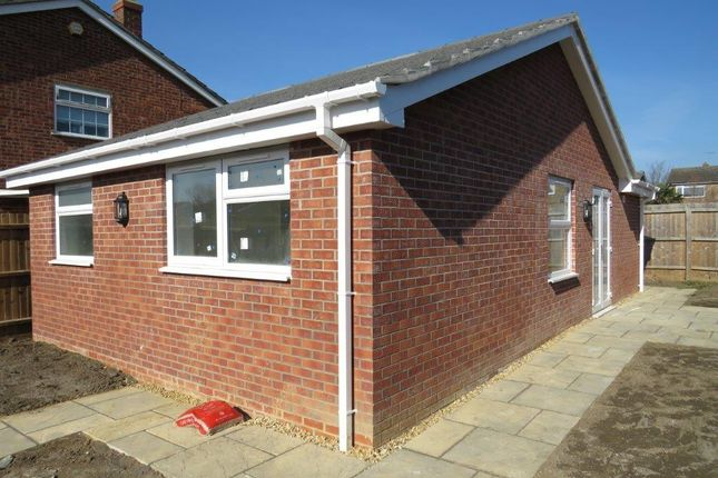 Thumbnail Detached bungalow for sale in Cherrytree Walk, Yaxley, Peterborough