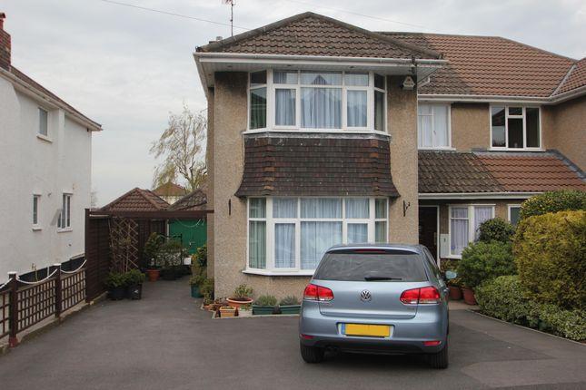Thumbnail Semi-detached house for sale in Montroy Close, Henleaze, Bristol