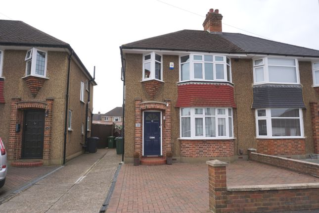 Thumbnail Semi-detached house for sale in Moorfield Road, Chessington
