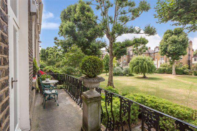 Balcony of Randolph Crescent, Little Venice, London W9
