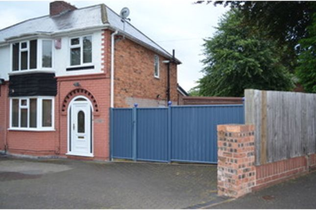 Thumbnail Semi-detached house for sale in Hampton Road, Wolverhampton