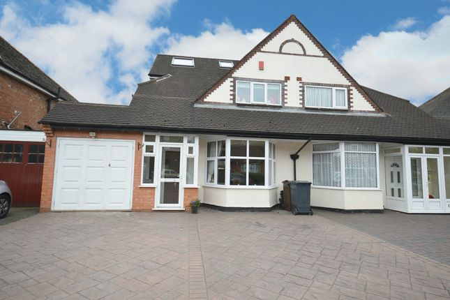 Thumbnail Semi-detached house for sale in Haslucks Green Road, Shirley, Solihull