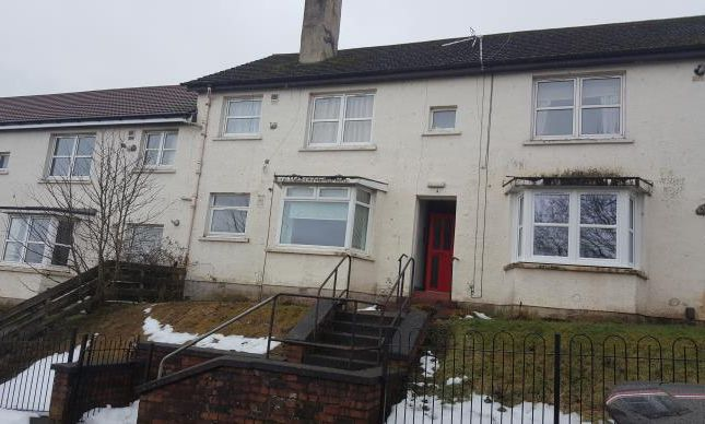 Thumbnail Flat to rent in Ashton View, Dumbarton