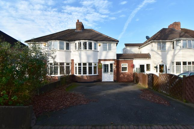 3 bed semi-detached house for sale in Stroud Road, Shirley, Solihull B90