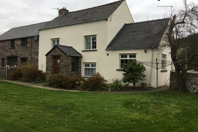 Thumbnail Semi-detached house to rent in Lower House Farm, Llanwenarth