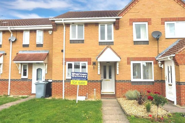 Thumbnail Terraced house to rent in Cowslip Drive, Deeping St. James, Peterborough