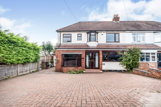 Thumbnail Semi-detached house for sale in Clarence Gardens, Sutton Coldfield, West Midlands