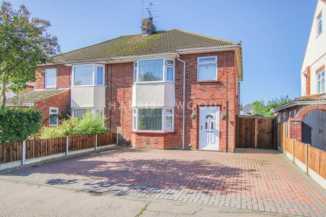 Thumbnail Semi-detached house for sale in All Saints Avenue, Colchester