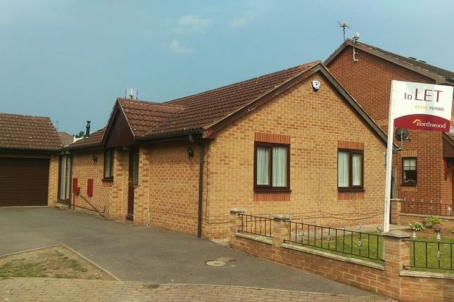 Thumbnail Detached bungalow to rent in Perran Grove, Cusworth, Doncaster