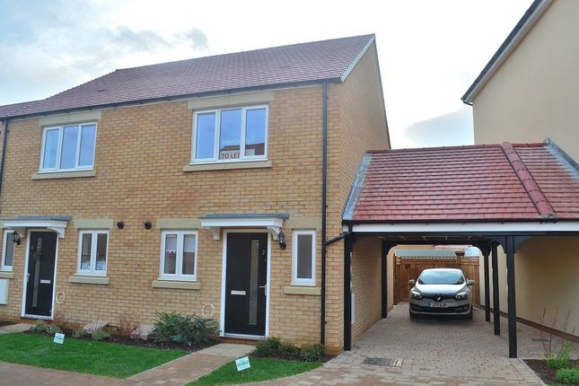 Thumbnail Detached house to rent in Holbrook Grove, Biggleswade, Bedford