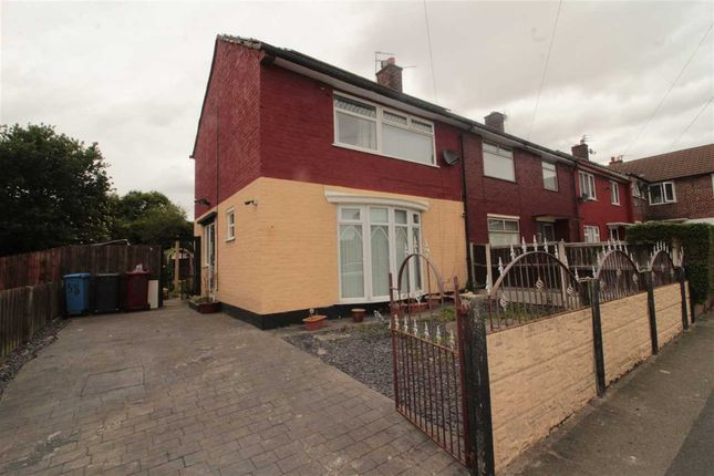 Thumbnail End terrace house to rent in Rhosesmor Terrace, Rhosesmor Road, Liverpool