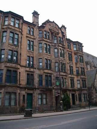 Thumbnail Flat to rent in University Avenue, West End, Glasgow