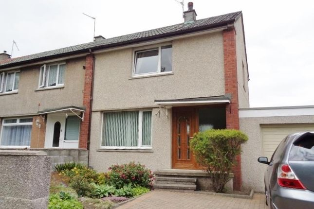 Thumbnail End terrace house to rent in Warout Road, Glenrothes