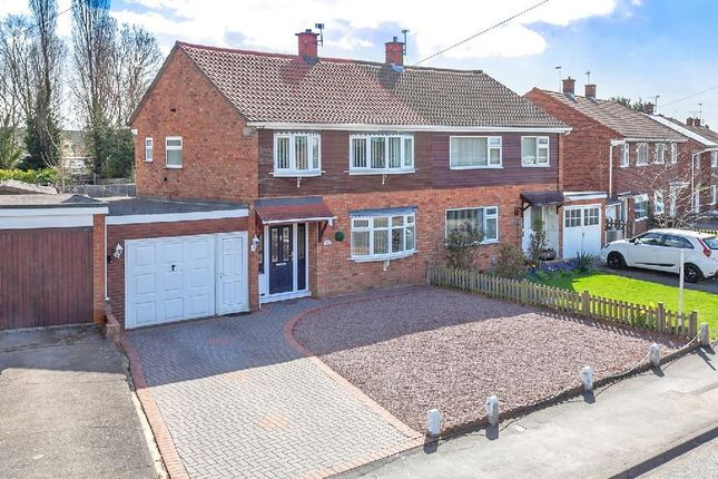 Thumbnail Semi-detached house for sale in Mount Pleasant Road, Shrewsbury