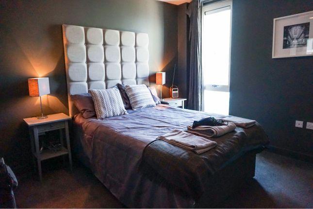 Bedroom of The Hub, Milton Keynes MK9