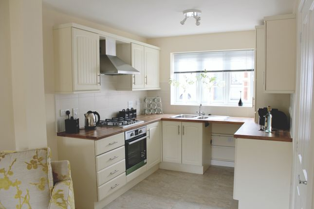 2 bedroom semi-detached house for sale in Off Ashby Street, Priors Hall, Weldon, Corby
