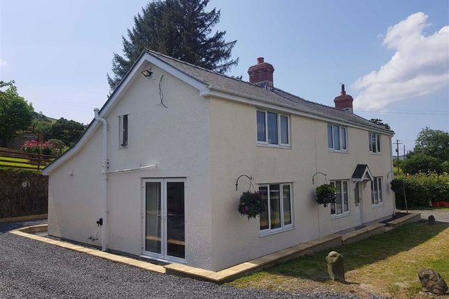 Thumbnail Detached house for sale in Cemmaes Road, Machynlleth, Powys