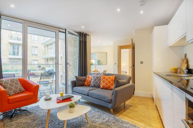 Thumbnail Triplex to rent in 3 Langan House, 14 Keymer Place, London, 7Rb, London