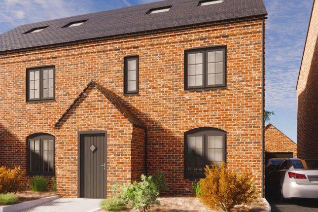 Thumbnail Semi-detached house for sale in Plot 3, Dairy Mews, Luke Lane, Brailsford